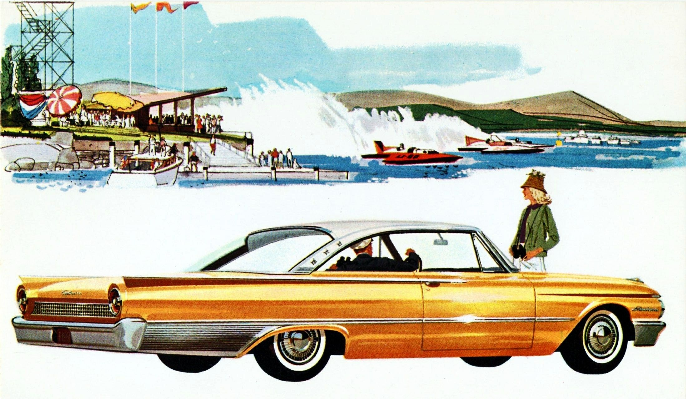 All sizes | 1961 Ford Starliner | Flickr - Photo Sharing!  sc 1 st  Pinterest : ford car sizes - markmcfarlin.com