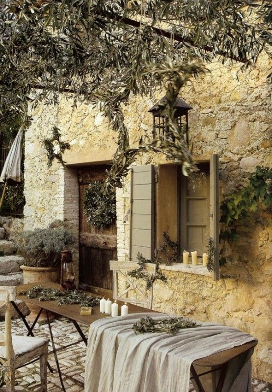 34 Refined Provence Inspired Terrace Decor Ideas Digsdigs