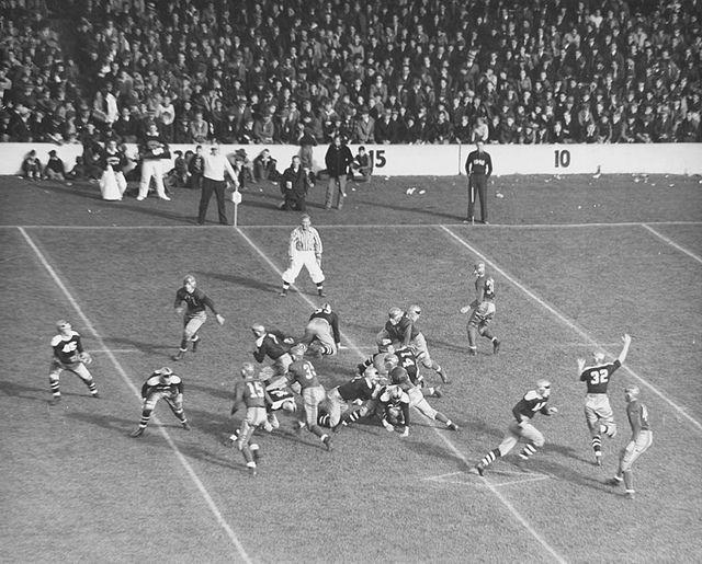 Michigan State Football Game 1930s Michigan State Football Michigan State Michigan State Spartans Football