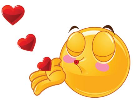 Nacht kuss gute emoji 😚 Küssendes
