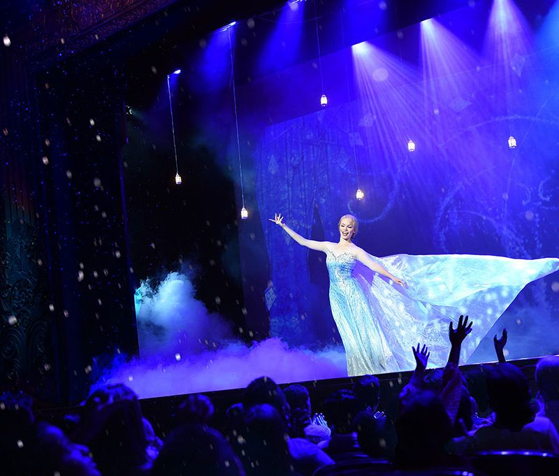 """SET SAIL WITH """"FROZEN, A MUSICAL SPECTACULAR"""" EXCLUSIVELY ON THE DISNEY WONDER THIS NOVEMBER"""