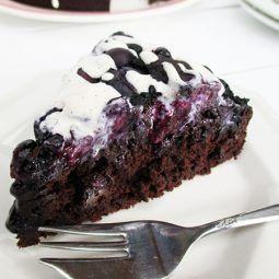 Blaubeer Schokoladen Kuchen Vegan Glutenfrei Ohne Kristallzucker