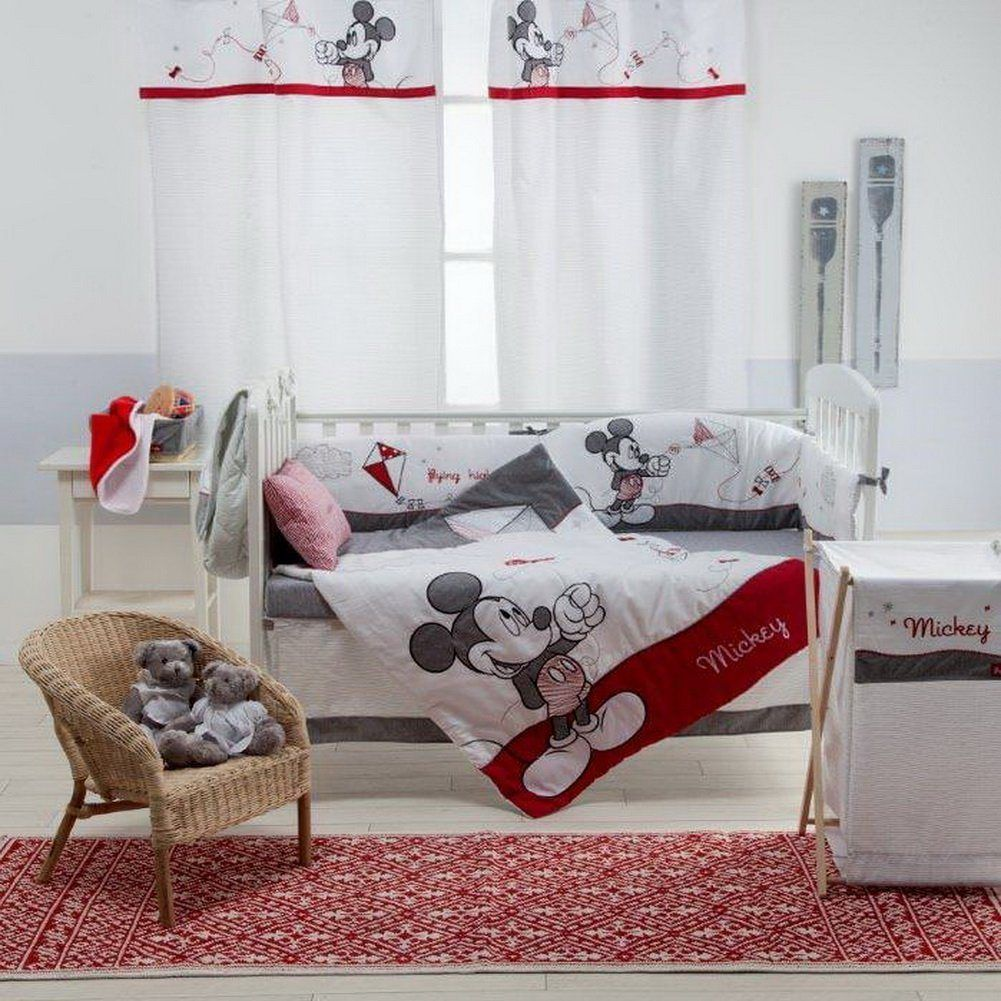 Mickey Mouse Nursery | Mickey mouse nursery, Nursery bedding and ...