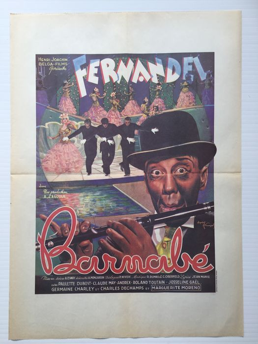 Casablanca, Barnabé, The Sea Hawk, Snow White, Arabian Nights - reprint movie posters - Humprey Bogart, Fernandel, Ingrid Bergman, Eroll Flynn, Disney - Catawiki