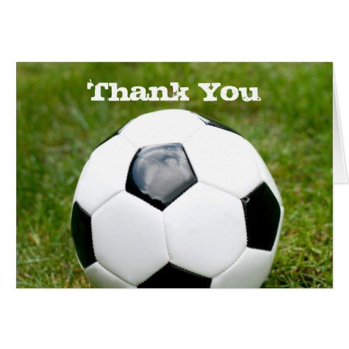 Soccer Ball Thank You Sports Birthday Party Pinterest