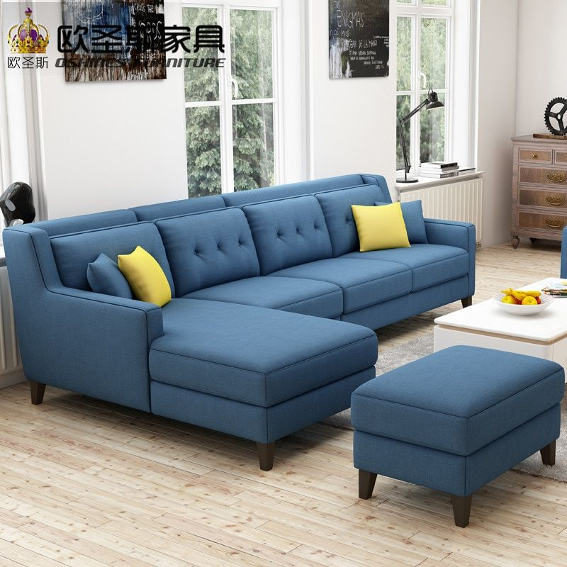 New Arrival American Style Simple Latest Design Sectional L Shaped Corner Livingroom Modern Furniture Living Room Living Room Sofa Design Living Room Sofa Set