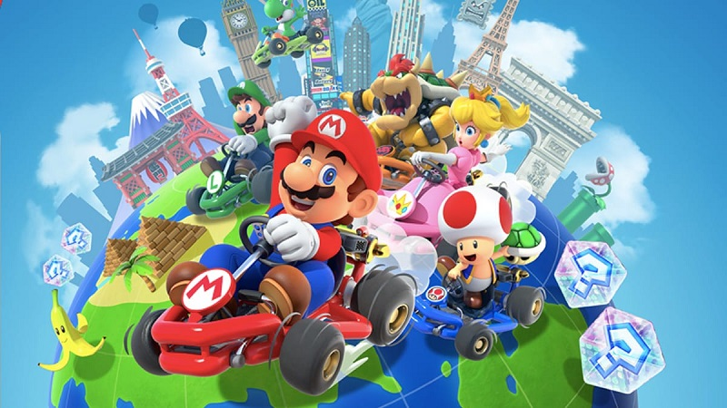 Mario Kart Tour Now Available to Download (and Play) on