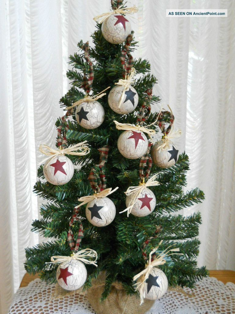 primitivechristmasornaments 10 primitive country christmas ornaments primitives photo - Primitive Christmas Ornaments