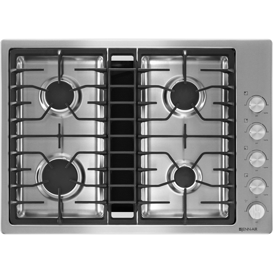 Jenn Air 30 Jx3 Gas Downdraft Cooktop Jgd3430bs Also Available All Black 1900
