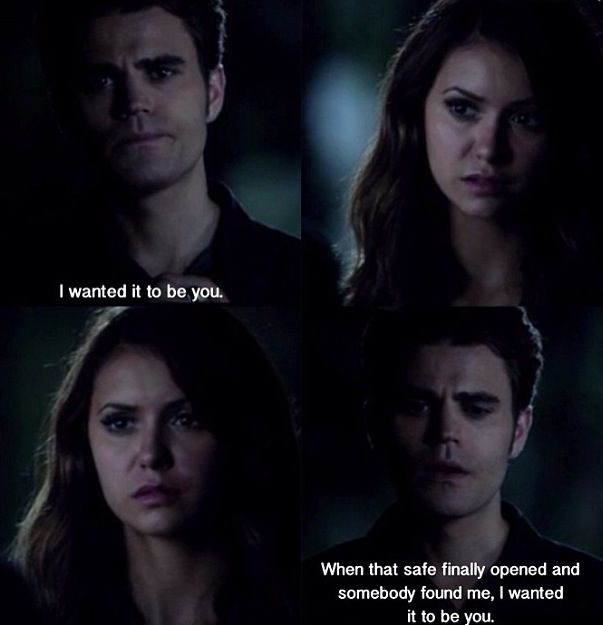 This still breaks my heart... I seriously need Stefan and Elena to be together so that I can carry on with my life!