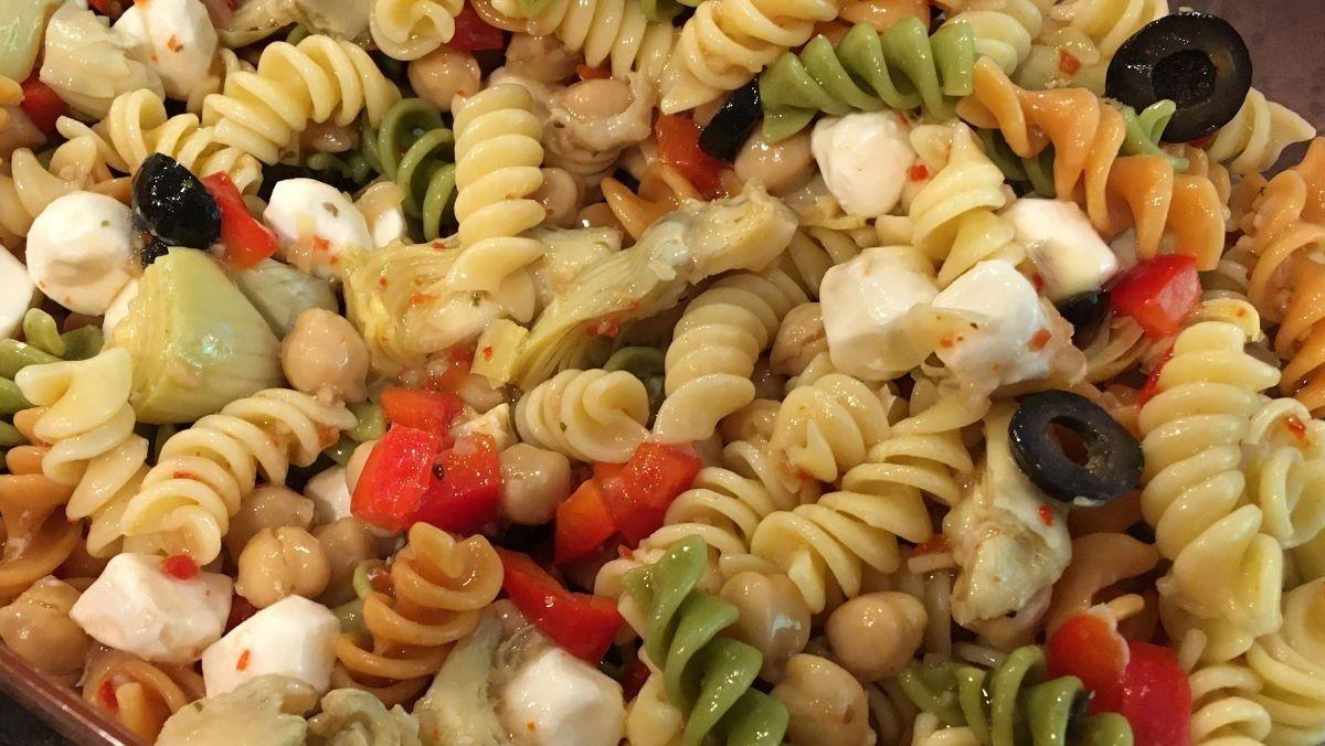 featured recipe victoria s hello summer pasta salad rockie williams premier chrysler dodge jeep ram in 2020 pasta salad summer pasta salad featured recipe pinterest