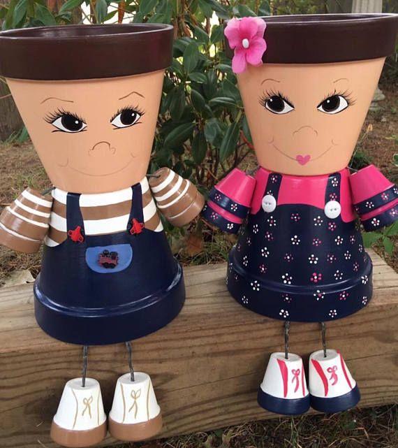 John Deere Flower Pots : John deere pink clay pot people flower