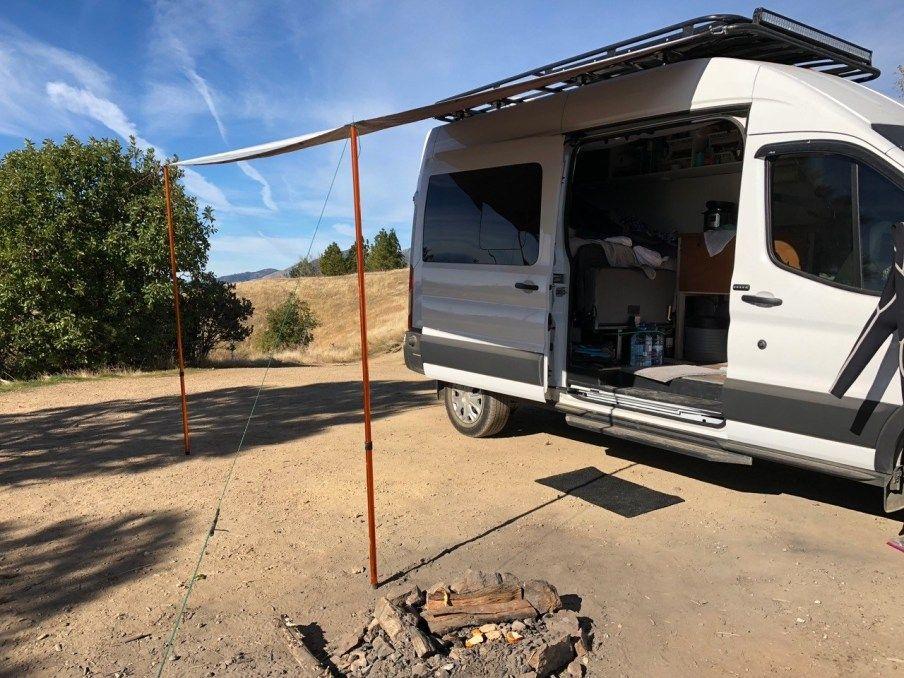 Affordable Diy Van Awning Campervan Awnings Camper Van Car Awnings