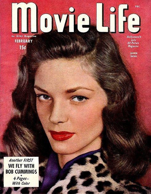 Memorable interpretación, su vida: Lauren Bacall.
