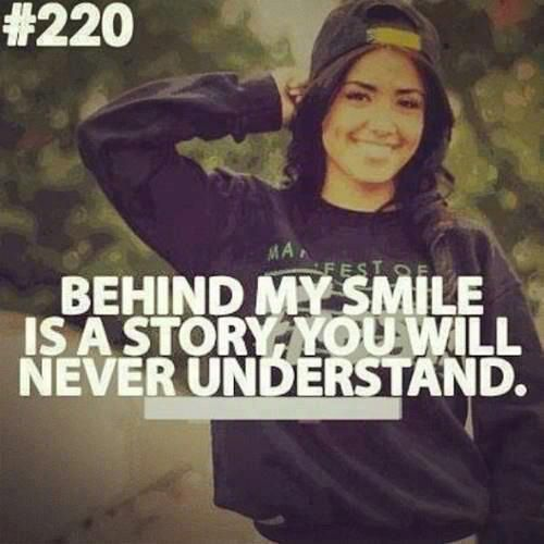 Behind My Smile Understanding Just Smile I Smile