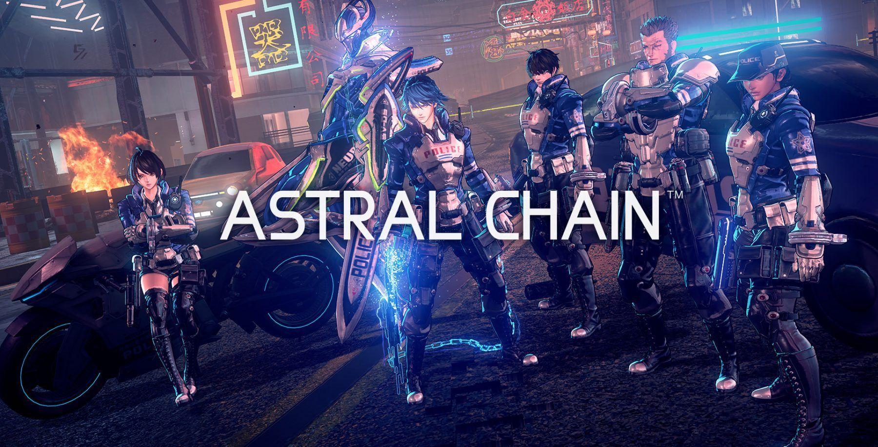 مجموعة من الصور الجديدة للعبة Astral Chain All Video Games