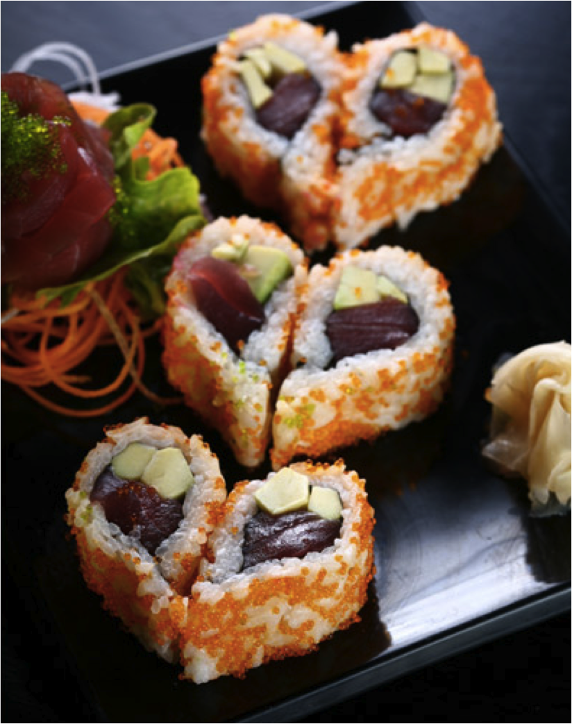 Easy Heart Sushi Great Snack For Type 2 Diabetics Diabetes Recipes Low Sugar
