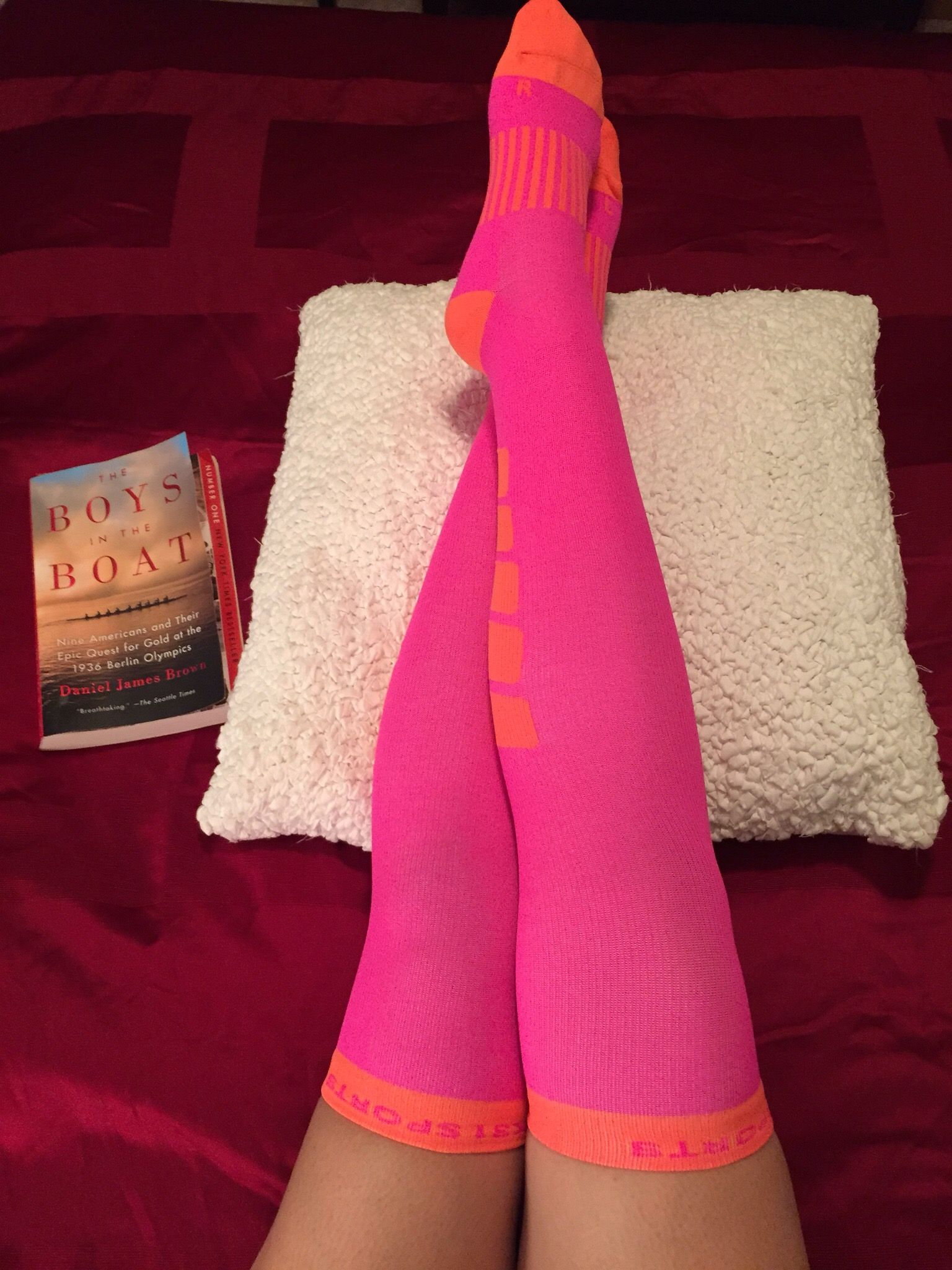 Our Knee High Compression Socks are so soft you'll want to