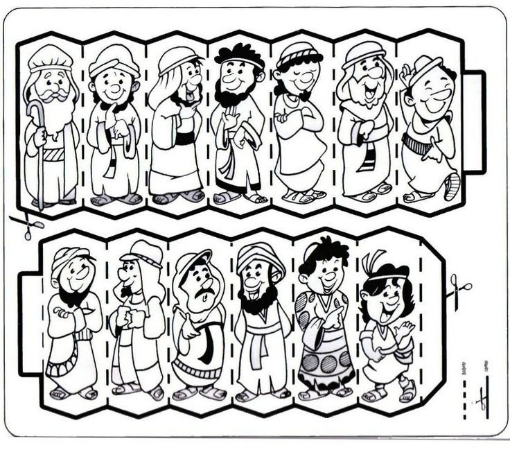 39+ 12 sons of jacob coloring page free download
