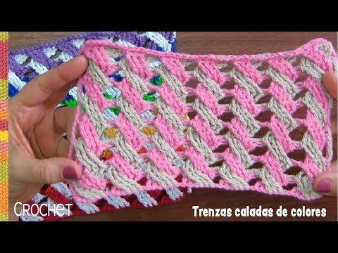 200 Ideas De Puntos Fantasía En Crochet Crochet Stitches Croché Tejidos A Crochet Puntos