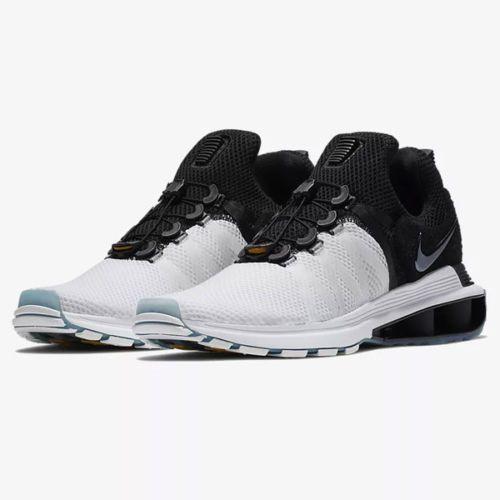 9e5ac088a4a Nike Shox Gravity AR1999-101 White Black Men s Sportswear Running Shoes  NEW!  69.95 End