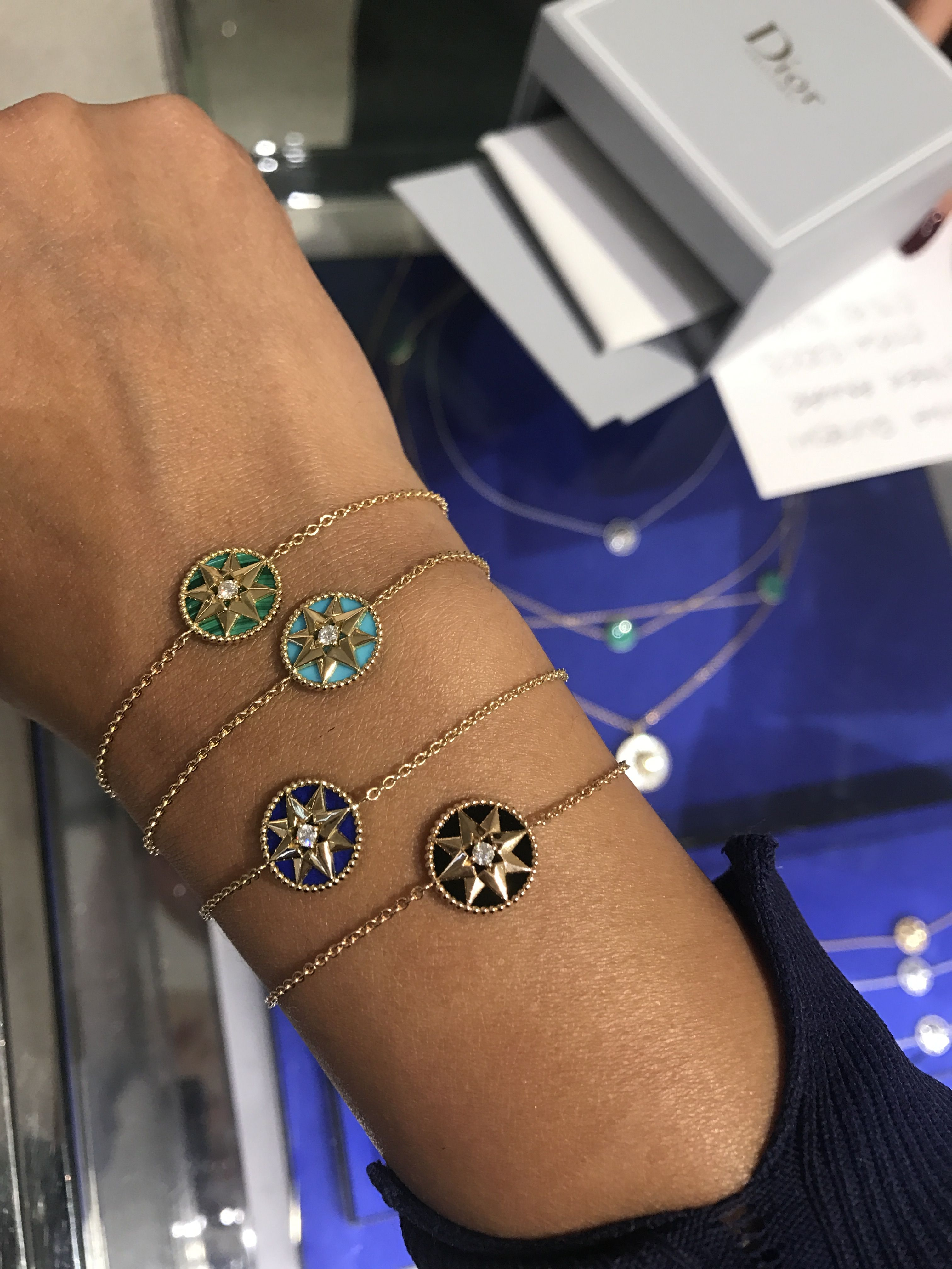 Dior Bracelets Stacking Rose Des Vents Jewlery Pinterest