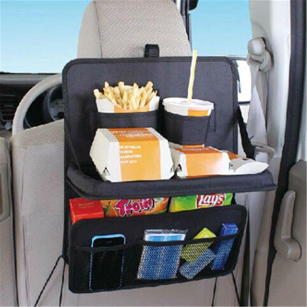 Car Folding Table Drink Food Cup Tray Holder Organizer Storage Bag