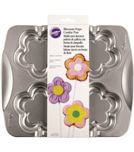 Wilton Blossom Pop Pan-4 Cavity, , hi-res