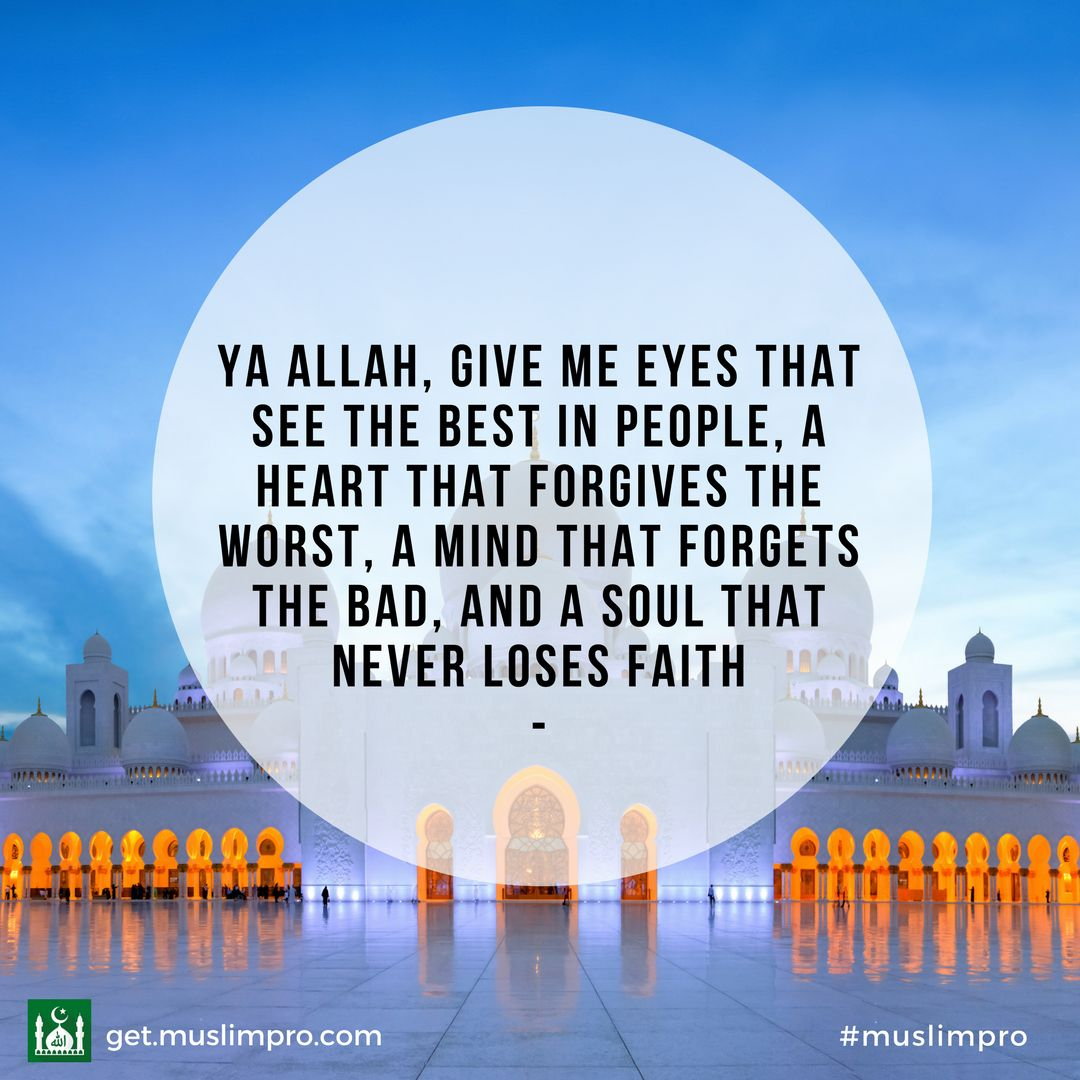 Daily Inspiration From Muslimpro Islam Islam Islamic Quotes Allah