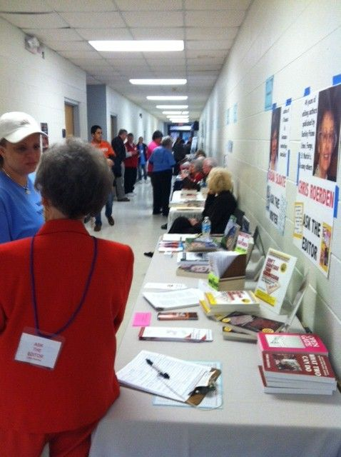 What A Crowd Robeson County Book Sale Book Signing