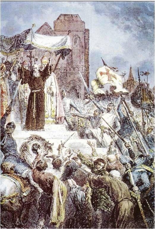 Inocencio IX convocando a la última cruzada