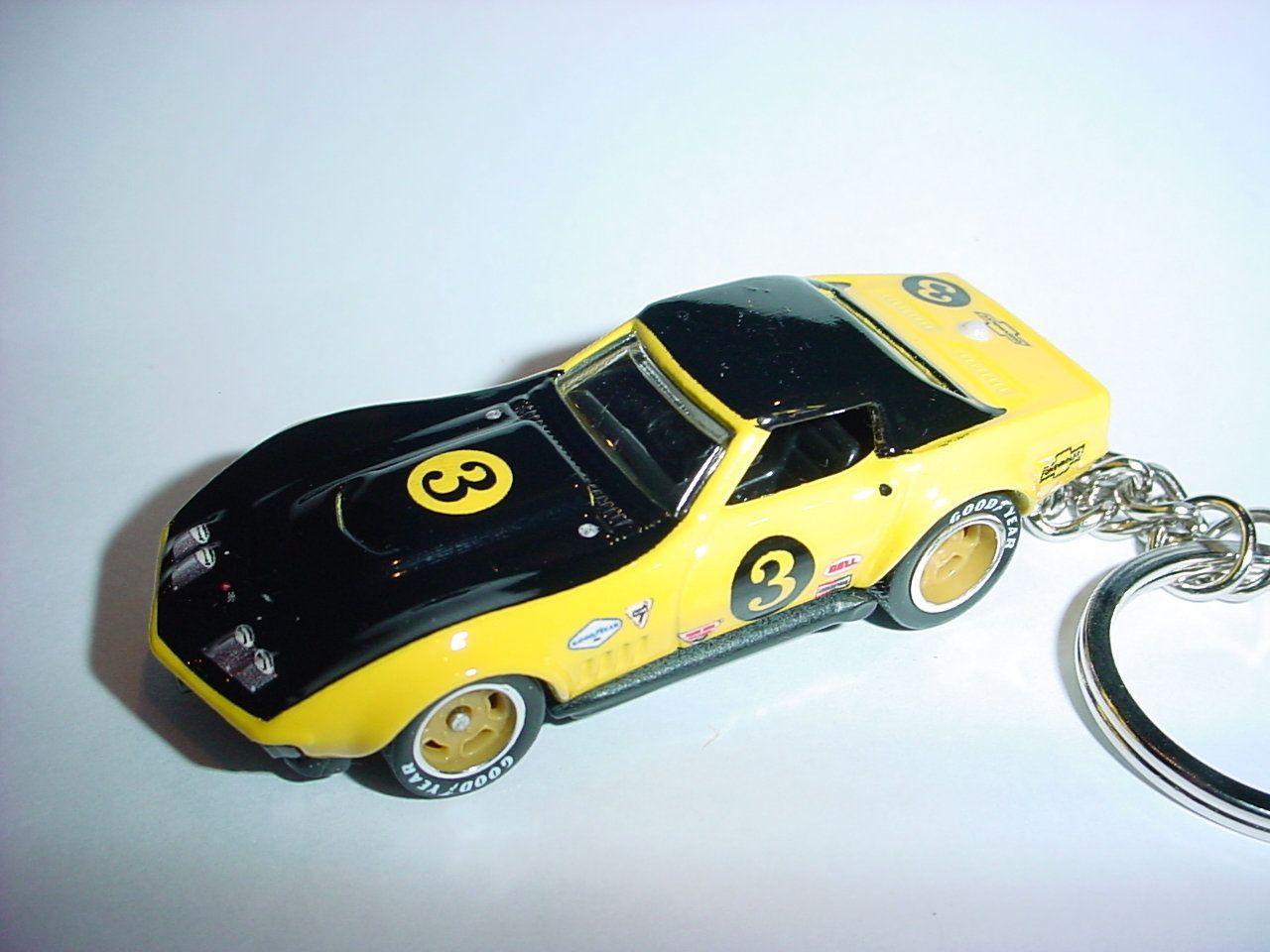 3D 1969 Chevrolet Corvette COPO Custom Keychain By Brian