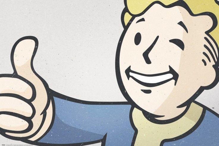 Fallout 4 Vault Boy Maxi Poster