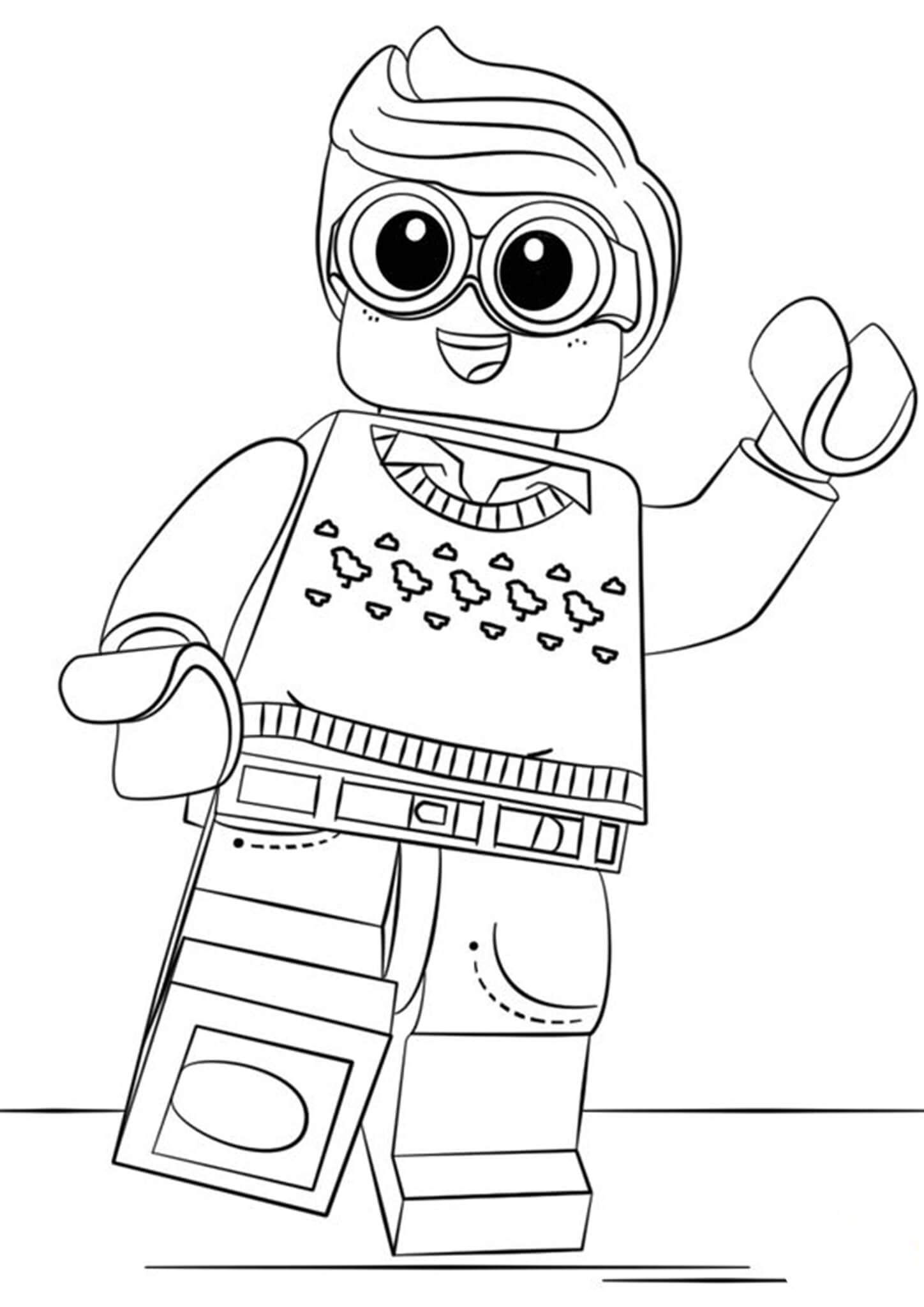 Lego Vulture Coloring Pages Amazing Design