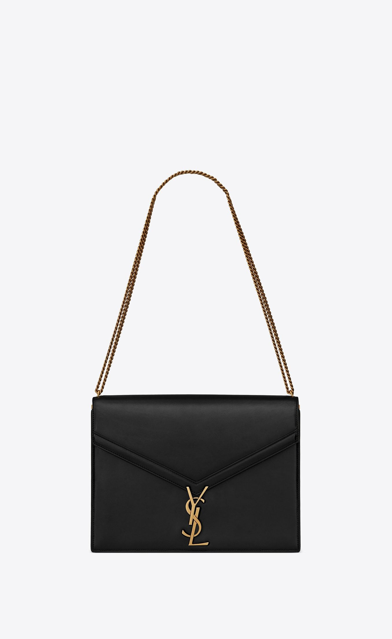 1c06fddad0bcf Cassandra Large bag with monogram slider in smooth leather | purses ...