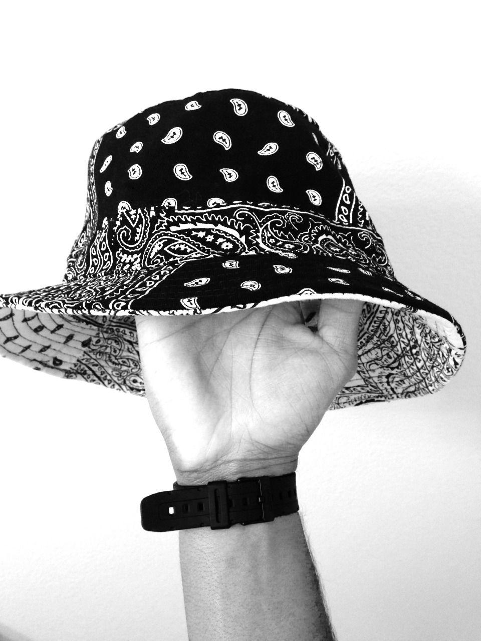 Paisley Bucket Hat  31d66b6d8dc