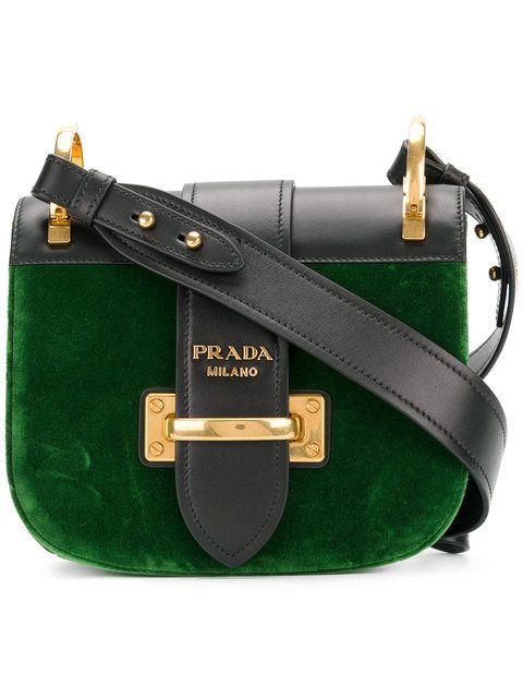 3031424a676d PRADA Pionniere cross-body bag.  prada  bags  leather  velvet ...
