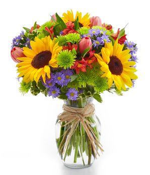 American Floral Garden At From You Flowers Thanksgiving Floral Arrangements Flower Arrangements Sunflower Arrangements