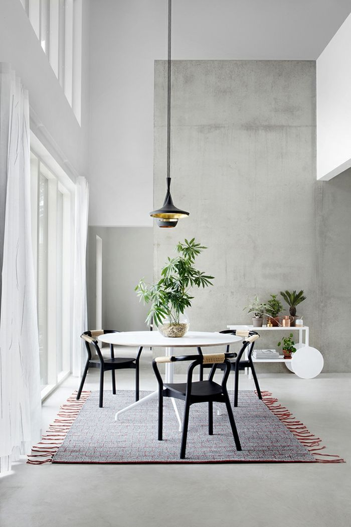 1001 ideas sobre c mo decorar un sal n comedor rio for Plantas salon decoracion