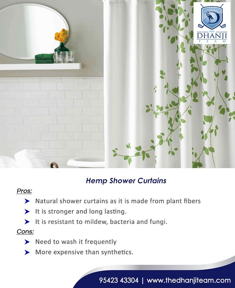 Hemp Shower Curtains Hemp A Much More Eco Friendly Shower