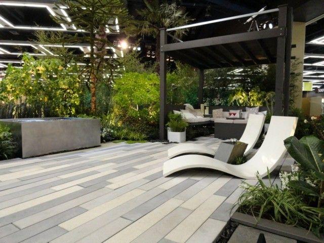 55 Idees Magnifiques Pour La Chaise Longue Dans Le Jardin Mobilier Jardin Paysagisme Moderne Decoration Exterieur