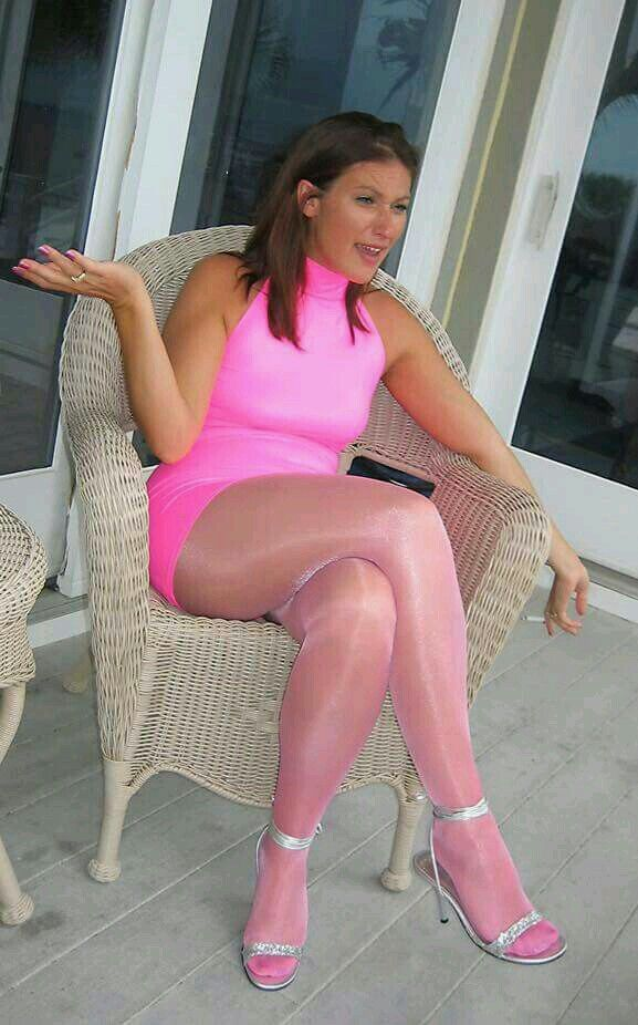 Pantyhose pink pictures
