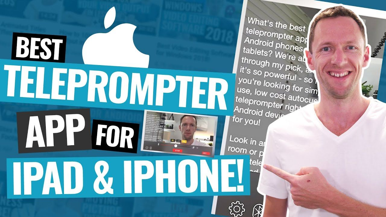 Review of the BEST Teleprompter App for iPad and iPhone