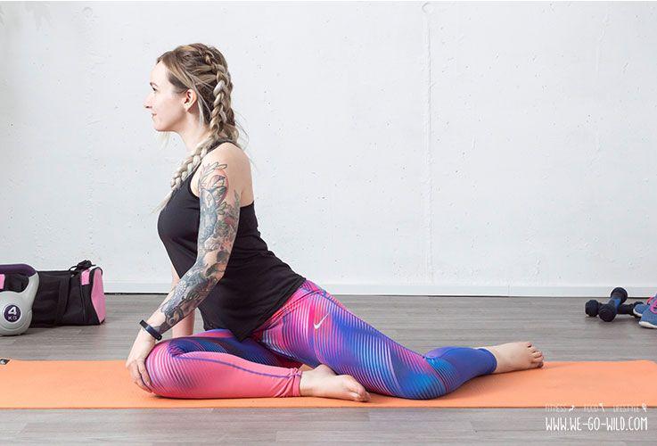12 effektive Faszien Yoga Übungen, die Verspannungen lösen #pilatesworkoutroutine