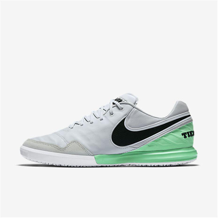 super popular d399c 5aa11 Nike TiempoX Proximo IC (Pure Platinum   Electro Green   Black)