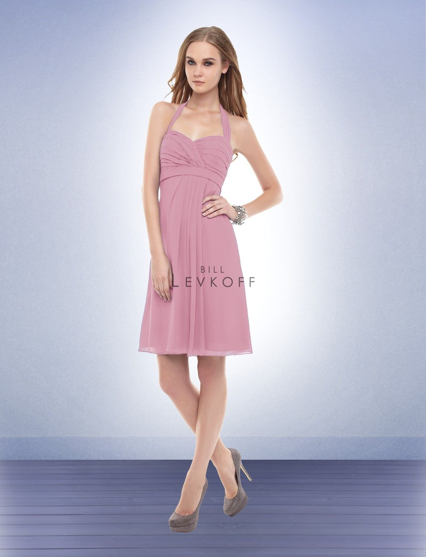 Bill Levkoff Bridesmaid Dress Style #153. Rose Petal   Plans for ...