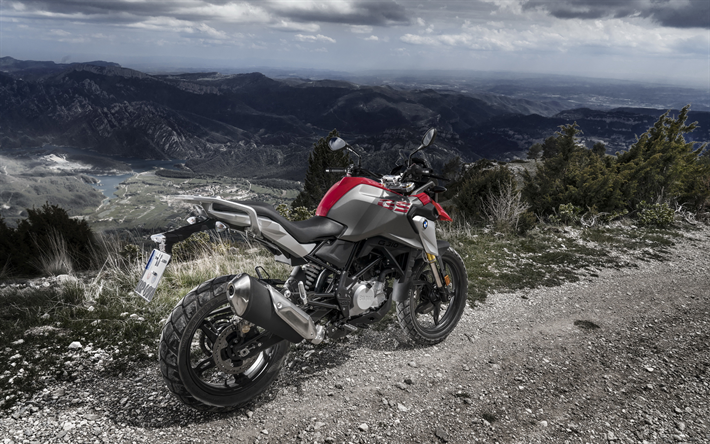 Download Wallpapers BMW G 310 GS, 4k, Superbikes, 2018
