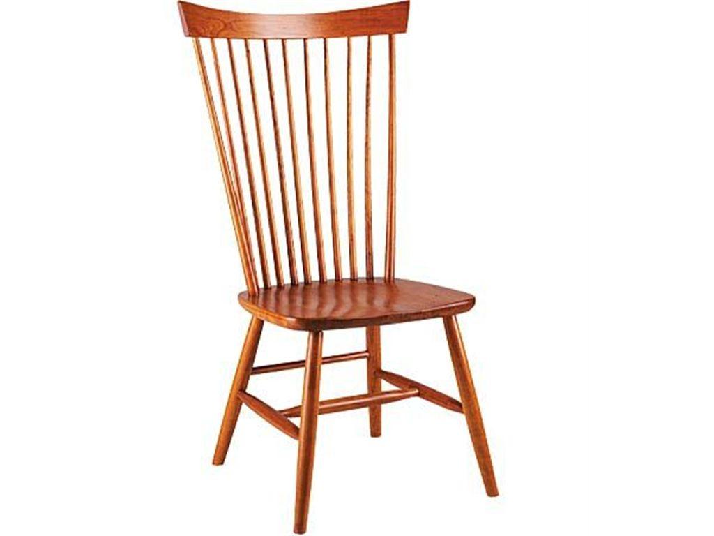 Gat Creek Dining Room Shaker High Back Side Chair 71234