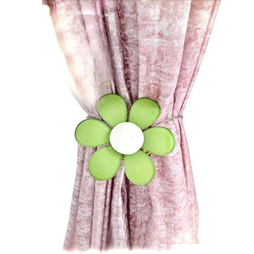 Sunonline® European Cartoon Magnetic Curtain Buckle Flower