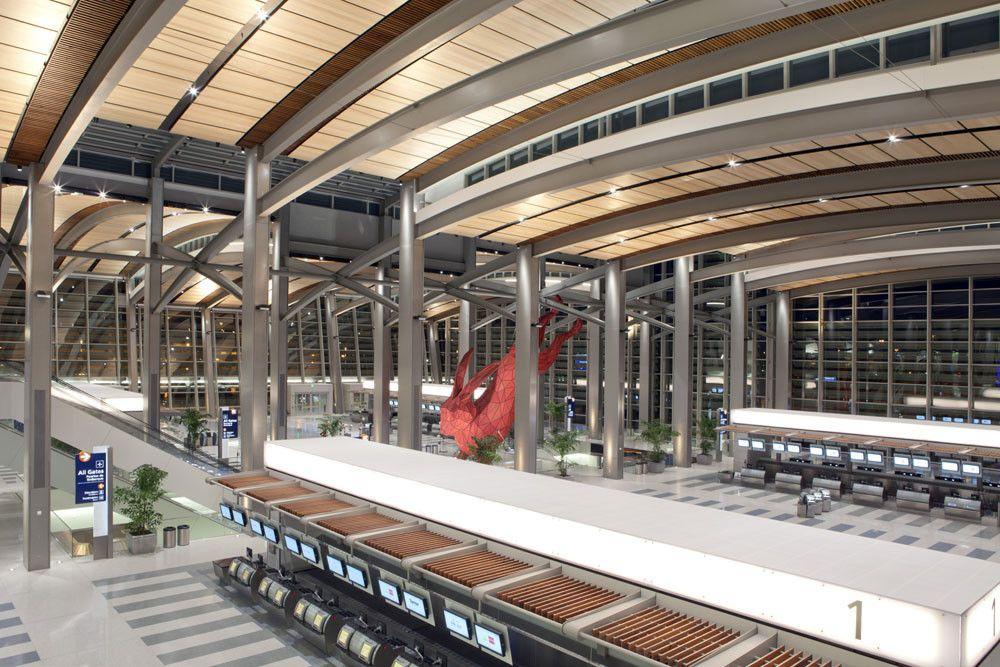 Gallery Of Sacramento International Airport Fentress Architects Corgan 3 Architect International Airport Architecture